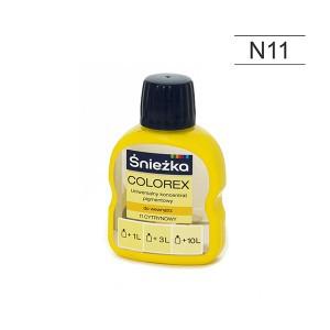 Pigmentas COLOREX citrininis 100 ml N11 Sniežka (20)