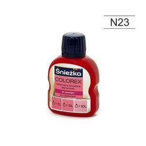 Pigmentas COLOREX raudonas 100 ml N23 Sniežka (20)