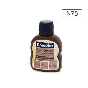 Pigmentas COLOREX rudas tamsus 100 ml N75 Sniežka (20)
