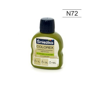Pigmentas COLOREX alyvmedis 100 ml N72 Sniežka (20)