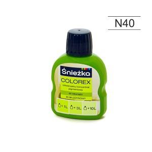 Pigmentas COLOREX salotinis 100 ml N40 Sniežka (20)