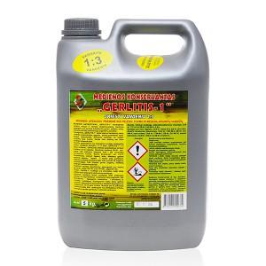 Antiseptikas antipirenas GERLITIS-1 žalias konc.  5 kg (1)