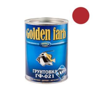 Gruntas GF-021 raudonai-rudas 0.9 kg GOLDEN FARB Chimik (6)