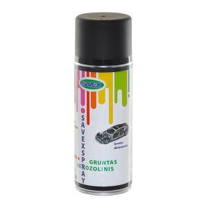 Dažai aerozoliniai gruntiniai SAVEXSPRAY juodi 400 ml (12)