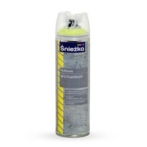 Dažai aerozoliniai MULTISPRAY SPOTMARKER geltoni 500 ml Sniežka (12)