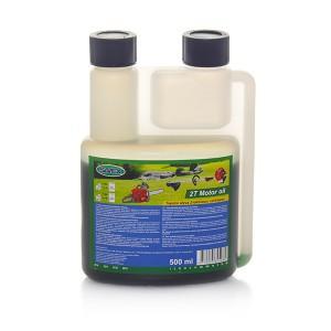 Alyva dvitakčiams varikliams 2T 500 ml su dozatoriumi SAVEX (žalia)