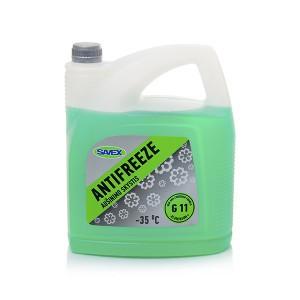 Aušinimo skystis ANTIFREEZE G11 -35*  5 L (žalias) Savex