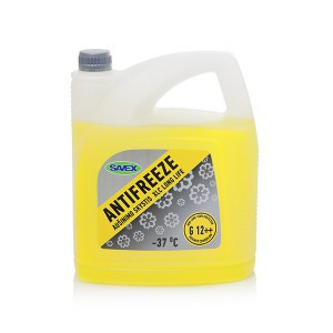 Aušinimo skystis ANTIFREEZE XLC G12++ -37*  5 L (geltonas) Savex