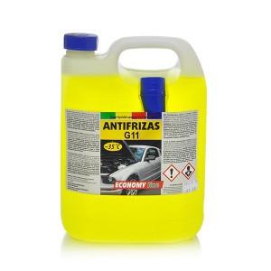 Coolant Antifreeze -35*C  (ECONOMY LINE)  5 kg  (yellow)