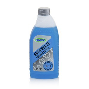 Aušinimo skystis ANTIFREEZE G11 -35*  1 L (mėlynas) Savex (12)