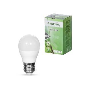 Lemputė LED A60 E27 230V 10W 806LM 3000K gelsva GREELUX (10)
