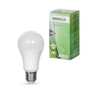 Lemputė LED A60 E27 230V 15W 1350LM 3000K gelsva GREELUX (10)