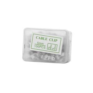 Laikikliai kabeliui 5 mm 100 vnt. HR17506