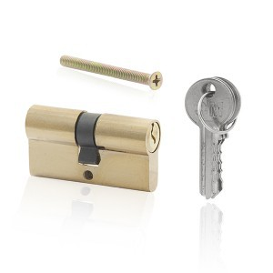 Cilindras spynai 60 mm su 3 raktais 130984
