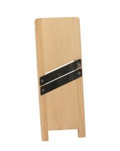 Pjaustyklė medinė 2-jų peilių maža 25x13 cm Lenkija SZA0018