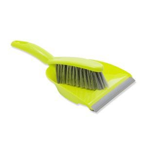 Semtuvėlis šiukšlėms su guma su šepetėliu LIFETIME CLEAN 871125215562