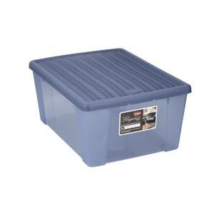 Dėžė plastikinė 15 ltr. mėlyna STEFANPLAST 800350730851