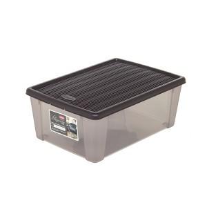 Dėžė plastikinė 15 ltr. moka spalvos STEFANPLAST 800350730850