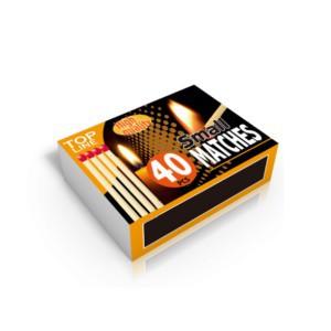 Degtukai maži 10 dėž. po 40 vnt. TOP LINE 871125229392 Indija