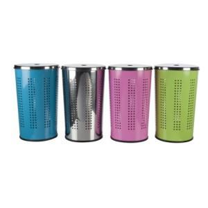 Dėžė skalbiniams 30 L metalinė 871125248698 (4 spalvų)