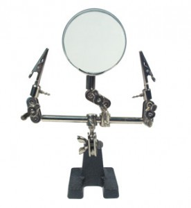 HELPING HAND W.MAGNIFYING GLASS 62MM
