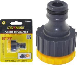 """Adapteris laistymo žarnai plastikinis 1/2"""" 0584053 Crownman (1)"""