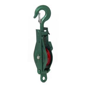 Skriemulys pakabinamas su vienu ratuku ir kabliu 75 mm HR17438-1