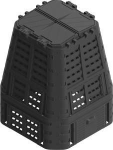 Dėžė kompostui 650 ltr. 600*800*800 mm 35621 FLO Lenkija