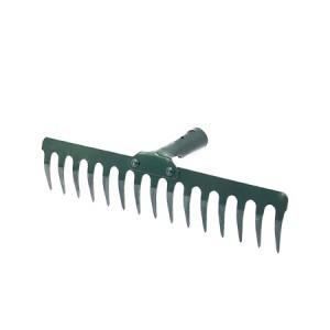 Grėblys 15 dantų sodo metalinis be koto 110746 mn300 lstb