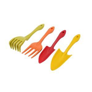 Įrankiai sodo mini spalvoti 4 vnt. 99056 FLO
