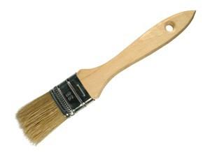Кисть флейцевая, дерев. ручка 36мм