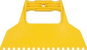 Glaistyklė plastikinė 225 mm dantys 6*6 mm 05972 Vorel