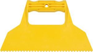 Glaistyklė plastikinė 225 mm trikampiai dantys 7 mm 05973 Vorel