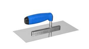 Trintuvė tinkavimui nerūdijančio plieno 130*270 mm su gum rank oranžin7100T