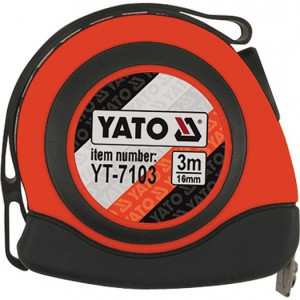 Ruletė 3 m*16 mm su magnetu YT-7103 YATO