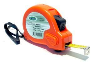 Ruletė 3 m*16 mm oranžinė CR-G15 Savex