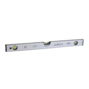 Gulsčiukas aliumininis pilkas 600 mm PROFI 0936460 Crownman (1)