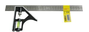 Kampainis reguliuojamas 300 mm su gulsčiuku 0913112 Crownman (6)