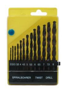 Grąžtai metalui HSS 13 vnt. 2-8 mm 113809