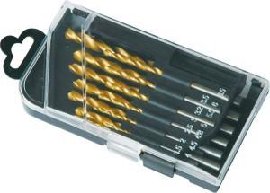 Grąžtai metalui HSS titaniniai 13 vnt. 1.5-6.5 mm 0130023 Crownman (10)