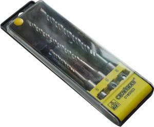 Grąžtų rinkinys betonui 5*110mm 6*160 mm 8*160 mm 0185003 Crownman (10)
