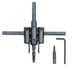 Grąžtas skylėms PVC 30-120 mm 3 dalių 28733