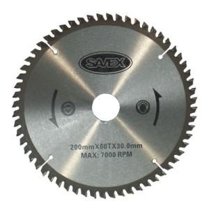 Diskas aliuminio pjovimo 200/30/3.0 60 dantų  65-841 Savex