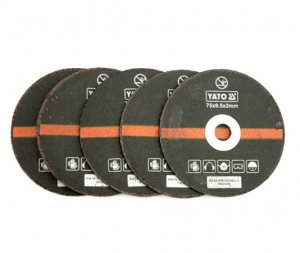 METAL CUTTING DISC 75 MM