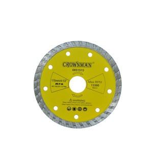 Diskas deimantinis turbo 3 žvaigžd. 115 mm 0851515 Crownman (50)