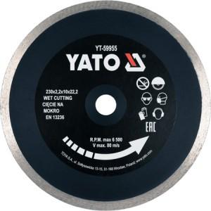 Diskas deimantinis keramikai 230 mm YT-59955 YATO