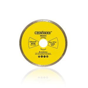 Diskas deimantinis pilnas 3 žvaigžd. 125 mm 0853525 Crownman (50)