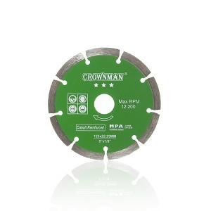 Diskas deimantinis segmentinis 3 žvaigžd. 125 mm 0853725 Crownman (50)