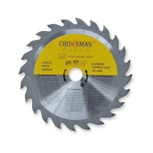 Diskas medžio pjovimo 230 mm 60 dantų PROFI 0861107 Crownman (1)