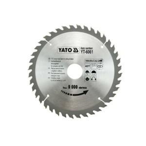 Diskas medžio pjovimo 184*40T*30 mm YT-6061 YATO